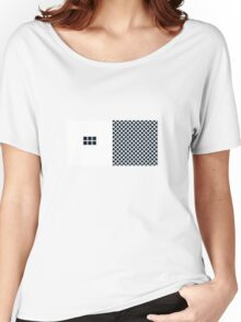 Number BLACK+white 6 Women's Relaxed Fit T-Shirt