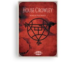 House of Crowley Canvas Print