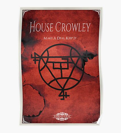 House of Crowley Poster