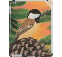Black-capped Chickadee iPad Case/Skin