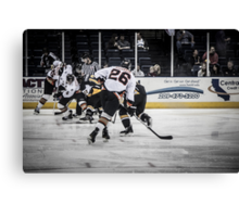 Battle for the goal Canvas Print