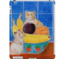 Hamsters In Fruit Bowl iPad Case/Skin