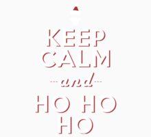 Keep calm Santa HO HO HO One Piece - Short Sleeve