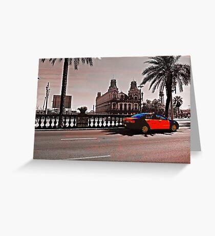Cab. Greeting Card