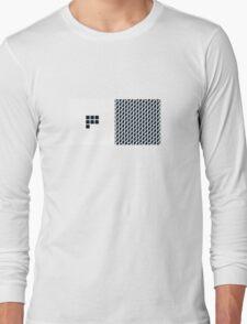 Number BLACK+white 7 Long Sleeve T-Shirt