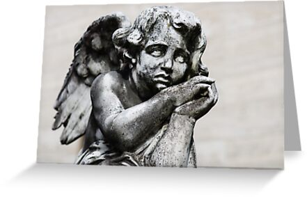 Sad Little Angel by Karen Havenaar