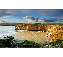 Sunny Cliffs Photographic Print