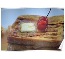 French toast (Thai style) Poster