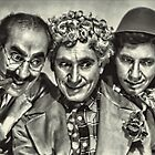 The Marx Brothers by © Kira Bodensted