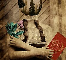 what the wood whispers to itself by Loui  Jover