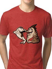 CabbyGils - Style #8 Tri-blend T-Shirt