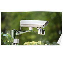 Camera outdoor surveillance Poster