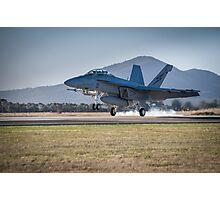 RAAF F/A-18F Super Hornet Photographic Print