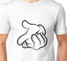 Mickey Mouse hands Unisex T-Shirt