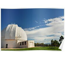 Mt Stromlo Old Observatory Poster
