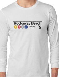 Rockaway Beach - Color Long Sleeve T-Shirt