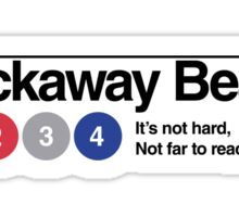 Rockaway Beach - Color Sticker