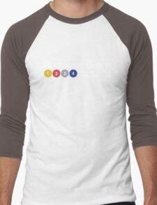 Rockaway Beach - Color Men's Baseball ¾ T-Shirt
