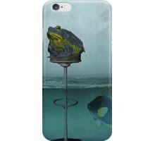 Toadstool Obviously - Surrealist Digital Art iPhone Case/Skin