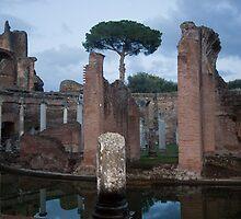 Villa Adriana Islet - Tivoli, Italy by Ren Provo