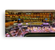 Amsterdam's Best Cheese Shop on the Dam Canvas Print
