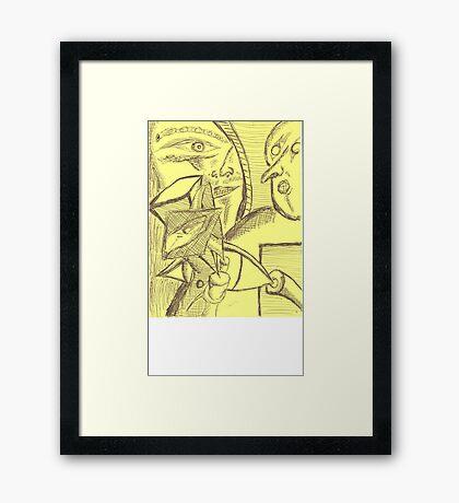 owed Framed Print
