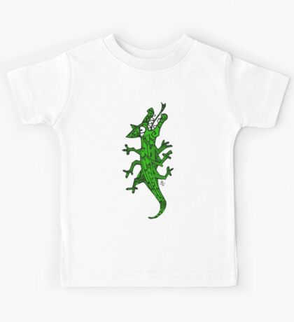 Green lizard Kids Tee