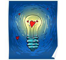 Lamp of love Poster