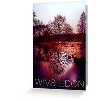 Wimbledon Common IV, London Greeting Card