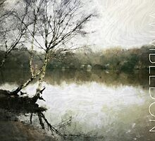 Wimbledon Common V, London by Ludwig Wagner
