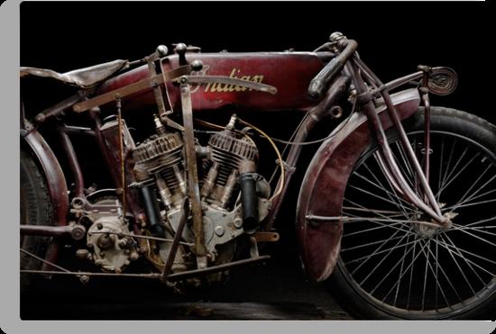 Indian Powerplus Clubman Racer by Frank Kletschkus