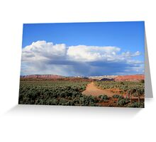 Kodachrome State Park,along the dirt road,Utah Greeting Card