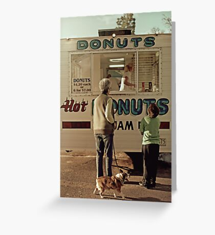 Donuts for Sale Greeting Card