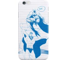 Batman & Superman iPhone Case/Skin