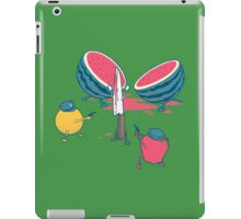 Melon massacre iPad Case/Skin