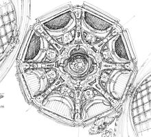 Dome. Abóboda. iphone.ipad deflector by terezadelpilar~ art & architecture