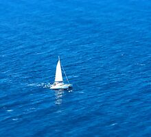 Sailing Alone by Apostolos Mantzouranis