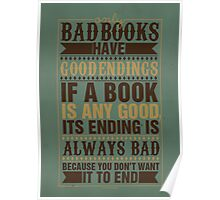 Bad Books Have Good Endings Poster