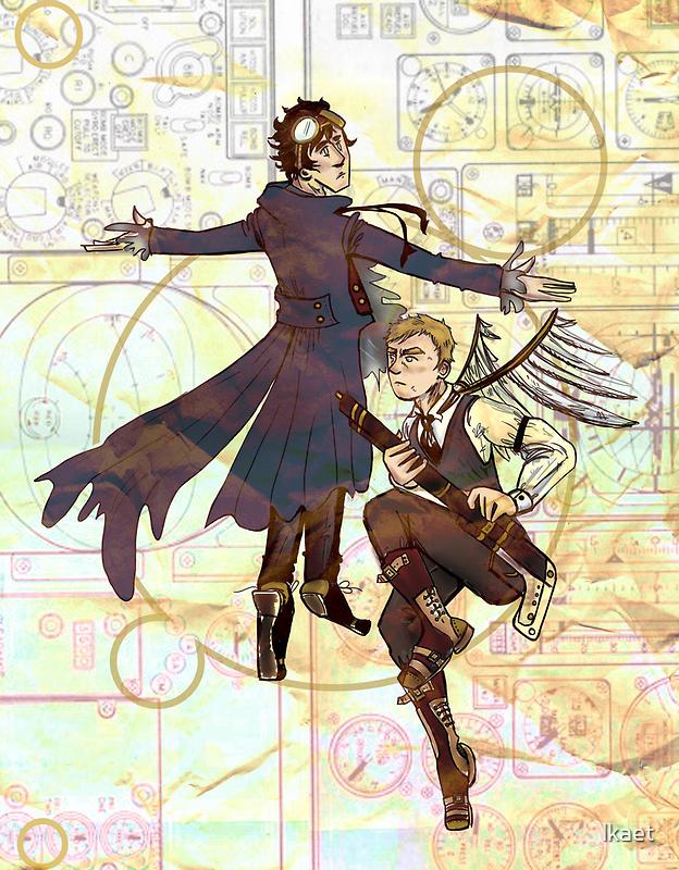 Sherlock Steampunk by lkaet