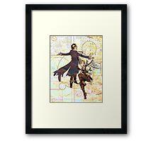 Sherlock Steampunk Framed Print