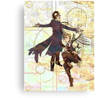 Sherlock Steampunk Canvas Print