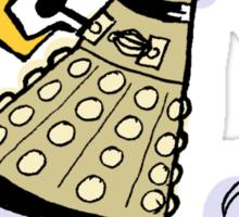 elevate/exterminate Sticker