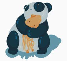Pandas & squids Kids Tee