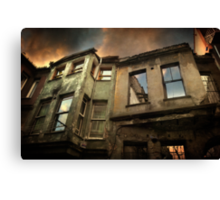 A Day in Balat Canvas Print