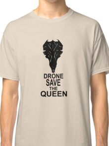 Drone Save The Queen Classic T-Shirt