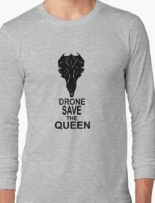 Drone Save The Queen Long Sleeve T-Shirt