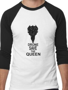 Drone Save The Queen Men's Baseball ¾ T-Shirt