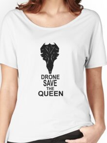 Drone Save The Queen Women's Relaxed Fit T-Shirt