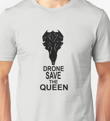 Drone Save The Queen Unisex T-Shirt