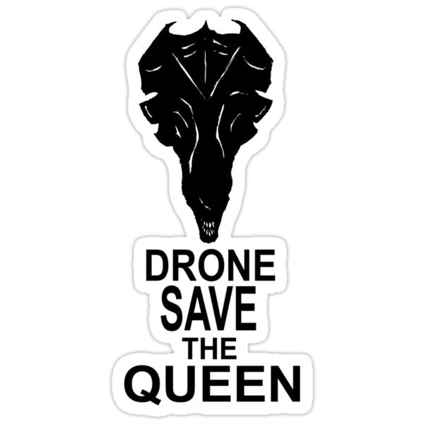 Drone Save The Queen by illproxy
